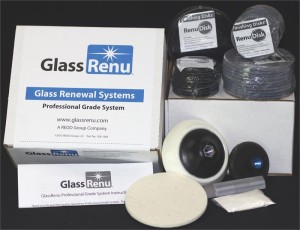 GlassRenu Professional Grade Scratch Removal System