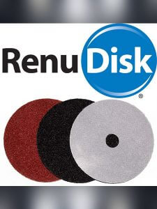 GlassRenu Glass Scratch Repair Renu Disks for Grinding Glass