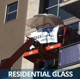 Residential High- Rise Glass Restoration by GlassRenu